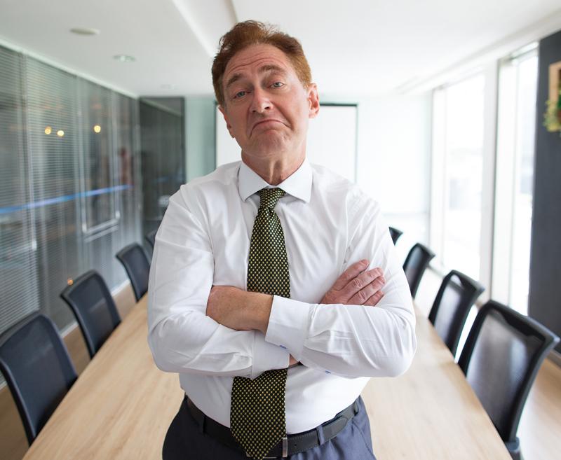 Reklame ist Geldverschwendung. Uwe Osterrieder im Interview mit sich selbst.